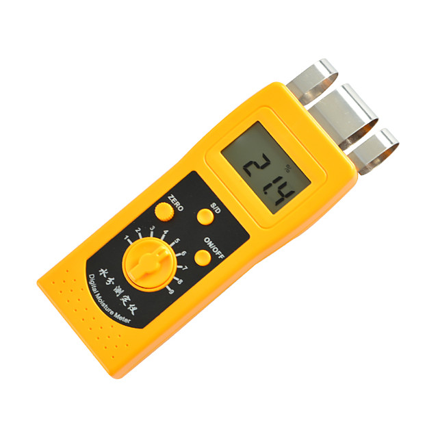 0%-50% Paper Carton Professional Moisture Meter Tester Analyzer Measure Moisture Content of Paper Metal induction DM200P