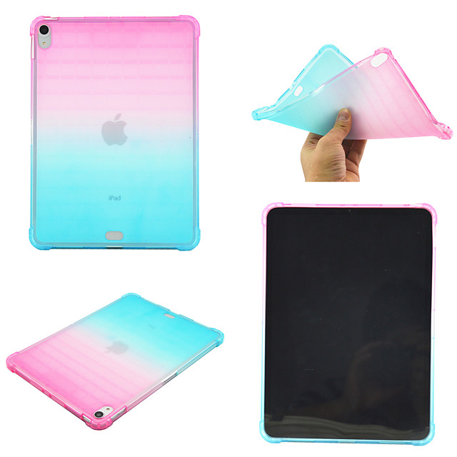 Case For Apple iPad Pro 11''   Ipad Pro 11''2020 360 Rotation Shockproof Back Cover Color Gradient TPU