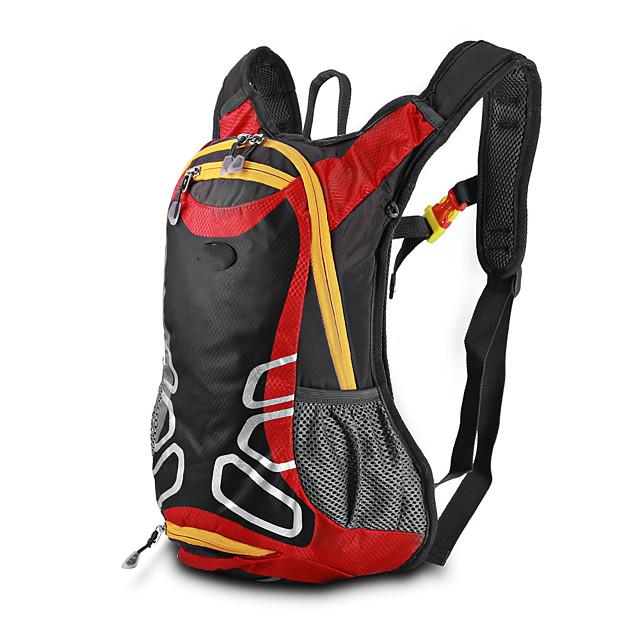 10 L Daypack Bike Hydration Pack & Water Bladder Cycling Backpack Reflective Waterproof Portable Bike Bag Terylene Bicycle Bag Cycle Bag Multisport