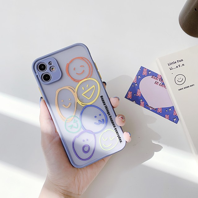 Case For Apple iPhone 11 / iPhone 11 Pro / iPhone 11 Pro Max Transparent / Pattern Back Cover Cartoon Silica Gel
