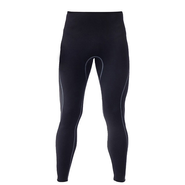 LIFURIOUS Men's Wetsuit Pants 2mm SCR Neoprene Bottoms Thermal / Warm Swimming Diving Surfing Solid Colored Summer Winter / High Elasticity