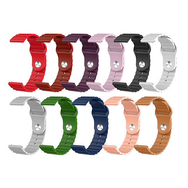 22MM Watch Band for Xiaomi Watch Color Xiaomi Classic Buckle Silicone Wrist Strap