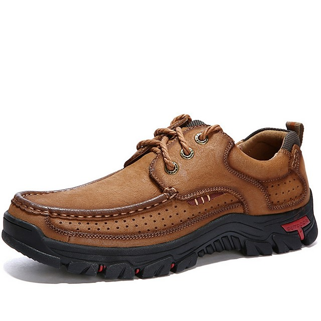 Men's Summer Daily Oxfords PU Black / Army Green / Brown