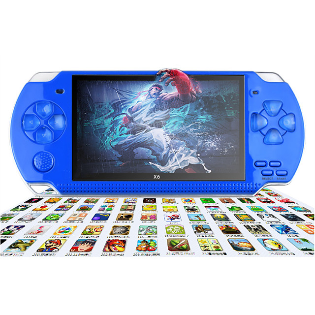 10000+ Games in 1 Handheld Game Player Game Console Multi-function with Rear Camera Support TV Output Classic Theme Retro Video Games with 4.3 inch Screen Kid's Adults' All 1 pcs Toy Gift
