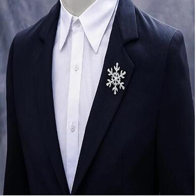 Alloy Brooch with Crystals / Rhinestones 1 Piece Wedding / Daily Wear Headpiece