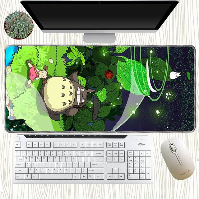 Large game mouse pad game player's various patterns lock edge keyboard mouse pad 300x800x3mm