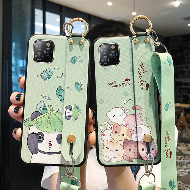 Case For Apple iPhone 11 / iPhone 11 Pro / iPhone 11 Pro Max Pattern Back Cover Word / Phrase / Panda TPU