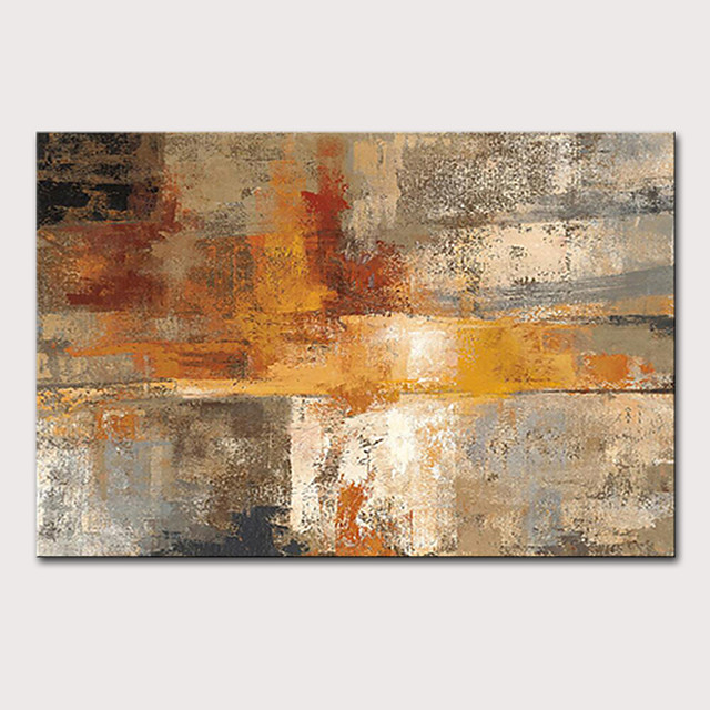 Mintura Large Size Hand Painted Abstract Oil Painting on Canvas Pop Art Poster Modern Wall Pictures For Home Decoration No Framed Rolled Without Frame