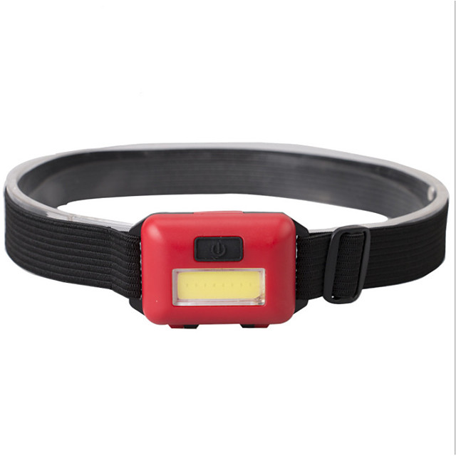 Mini COB headlamp LED Light Headlamps 100 lm LED LED Emitters 3 Mode Portable Easy Carrying Camping / Hiking / Caving Everyday Use Cycling / Bike Black Red Blue