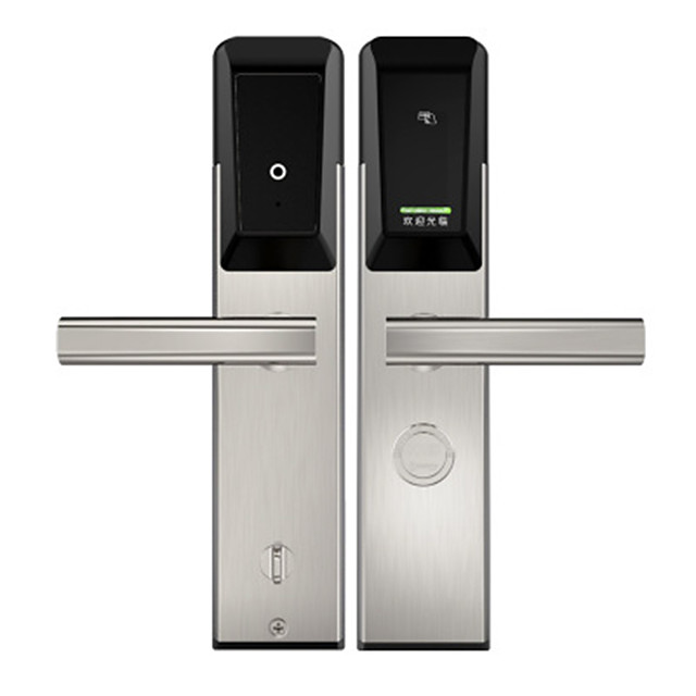 Security Door Hotel Hotel Rental Apartment Intelligent Swipe Card Lock Electronic Induction Intelligent Lock Hotel Lock Customization