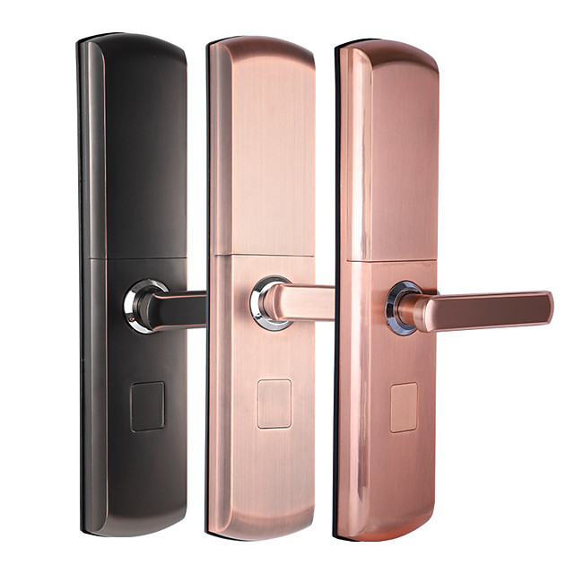 Semiconductor Fingerprint Lock Anti Theft Door Lock Smart Home Semi Automatic Electronic Password Lock