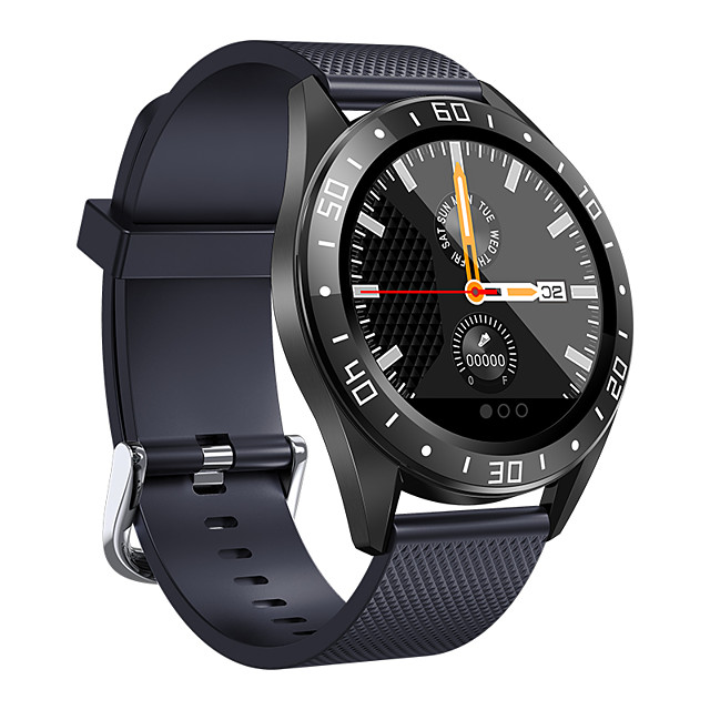 Smart watch GT105 Men Women Smartwatch Android iOS Bluetooth Waterproof Heart Rate Monitor Blood Pressure Measurement Sports Calories Burned Stopwatch Pedometer Call Reminder Sleep Tracker Sedentary