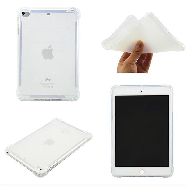 Case For Apple iPad Mini 3 2 1  iPad Mini 4  iPad Mini 5 360 Rotation  Shockproof Back Cover Transparent  Solid Colored TPU