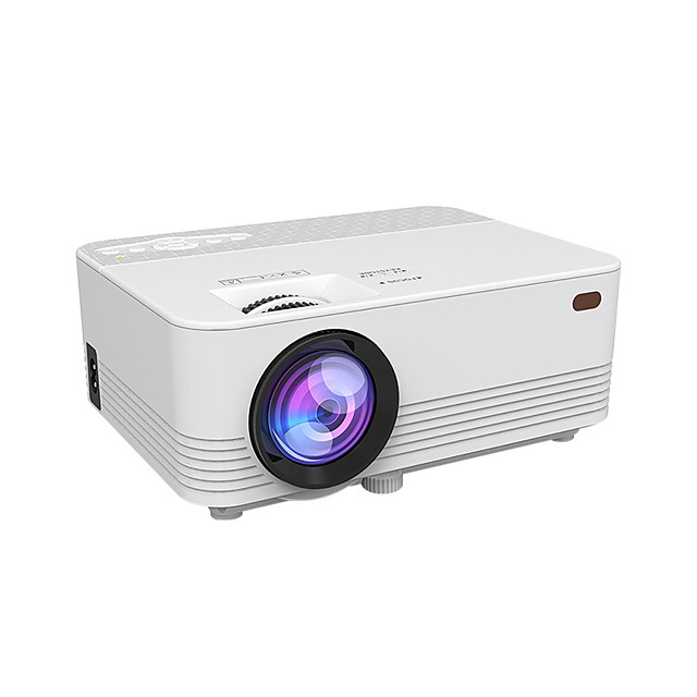 LED WiFi Projector Mobile Projector with Small Portable HD Home Theater Basic Sync Display Version