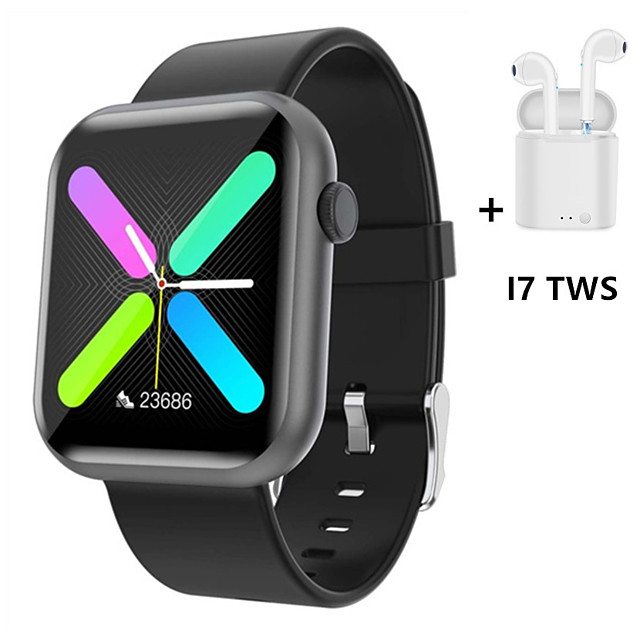 R3L Smart Watch Hoverable Heart Rate Blood Pressure Oxygen Monitor Game Function Music Sport Smartwatch Women Men
