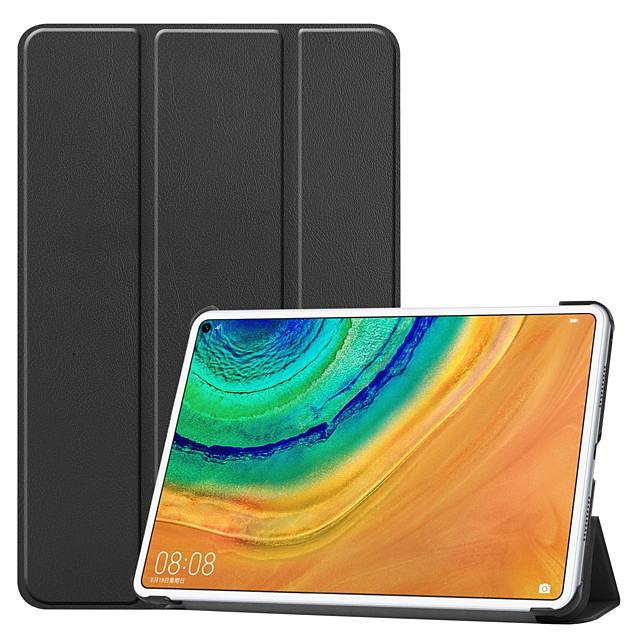Compatible with Huawei MatePad pro Shockproof Flip Full Body Cases Solid Colored