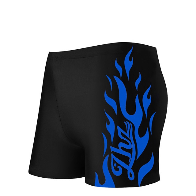 Men's Swim Shorts Bottoms Breathable Quick Dry Swimming Surfing Water Sports 3D Print Summer