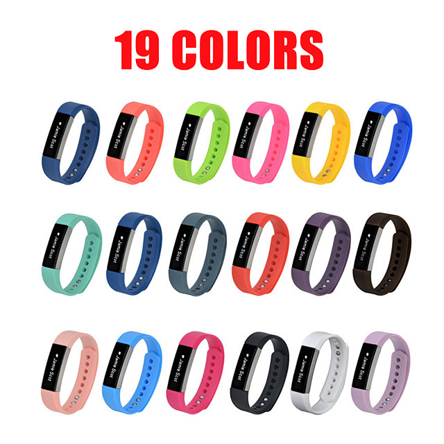 Silicone Watchband High Quality Replacement Wrist Band Silicon Strap Clasp For Fitbit Alta HR Smart Wristband Watch