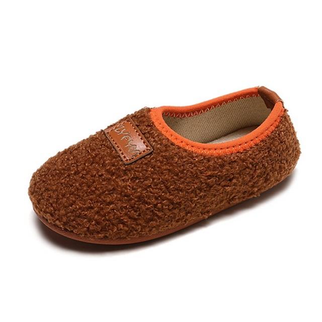 Girls' Comfort PU Loafers & Slip-Ons Little Kids(4-7ys) Black / Pink / Khaki Summer