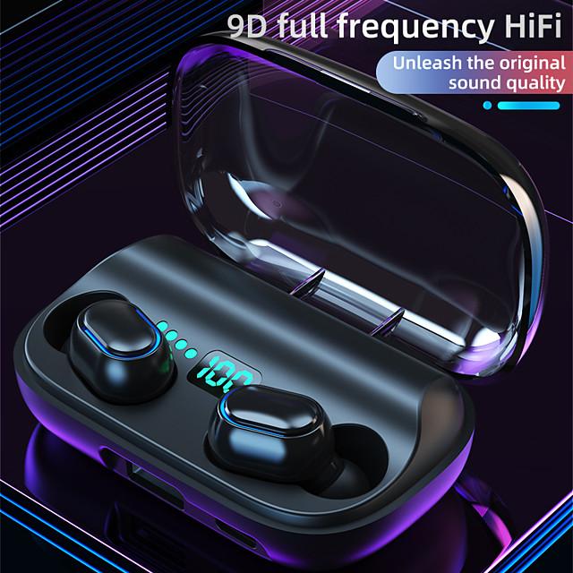 T11TWS Wireless Earbuds Bluetooth5.0 Waterproof Sports Headset HiFI Stereo In-ear Wireless Earphones for Sport Support Phone Charge