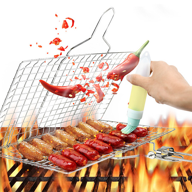 Tools Stainless Steel / Iron Fastness BBQ Tool Set For Home 1pc