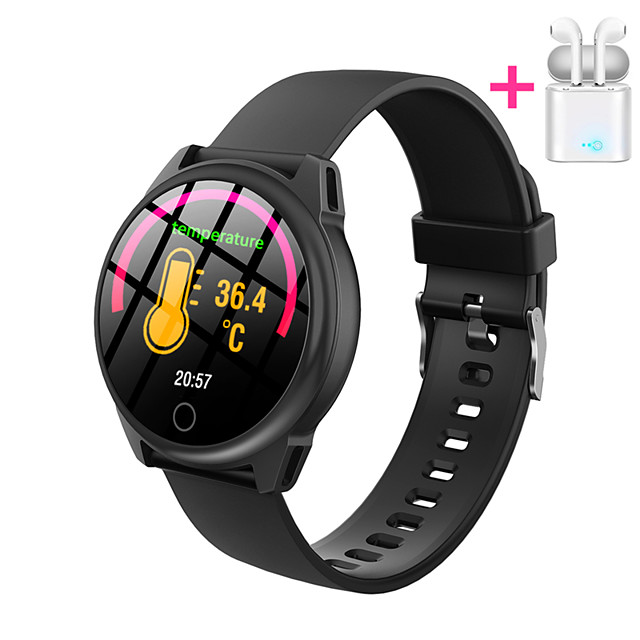 JSBP PH23 Men Women Smartwatch Custom dial Android iOS Bluetooth Waterproof Touch Screen Heart Rate Monitor Blood Pressure Measurement Sports Timer Stopwatch Pedometer Call Reminder Activity Tracker
