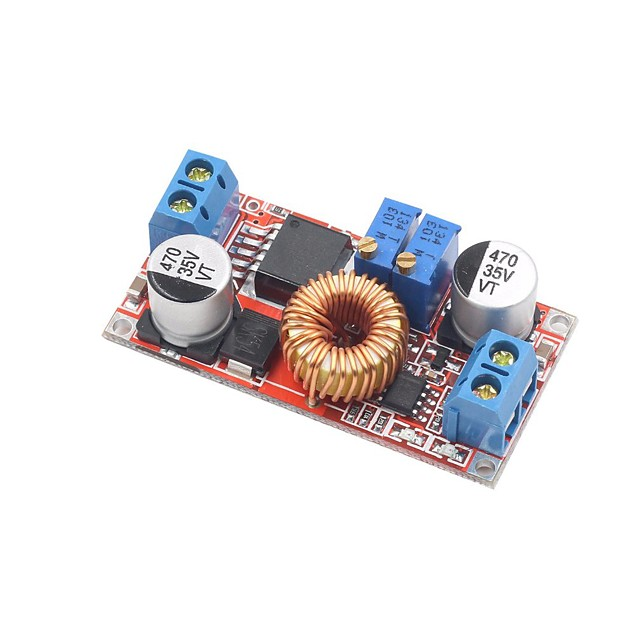 Constant current and constant voltage high current 5A Li ion battery charging LED drive buck constant current power module