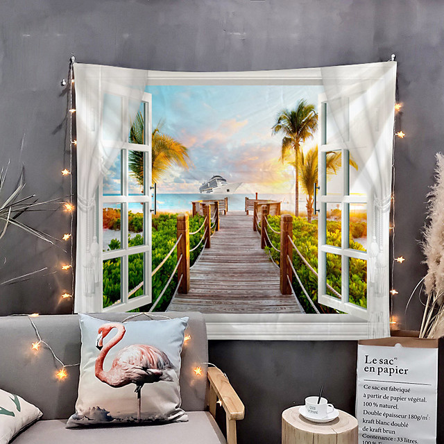Home Living Tapestry Wall Hanging Tapestries Wall Blanket Wall Art Wall Decor Special Scenery Tapestry Wall Decor