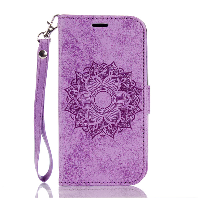 Case for  LG K10 7 8 Flip Magnetic Full Body Cases Flower PU Leather