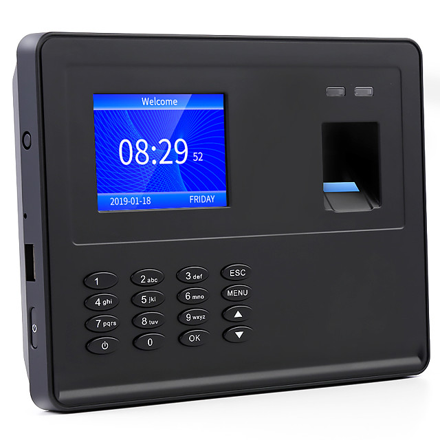 YKSCAN F02 Attendance Machine Record the Query Fingerprint / Password School / Hotel / Office