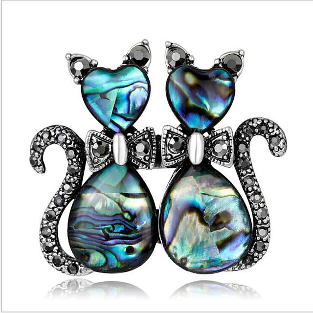 Alloy Brooches & Pins with Crystals / Rhinestones 1 Piece Wedding / Daily Wear Headpiece
