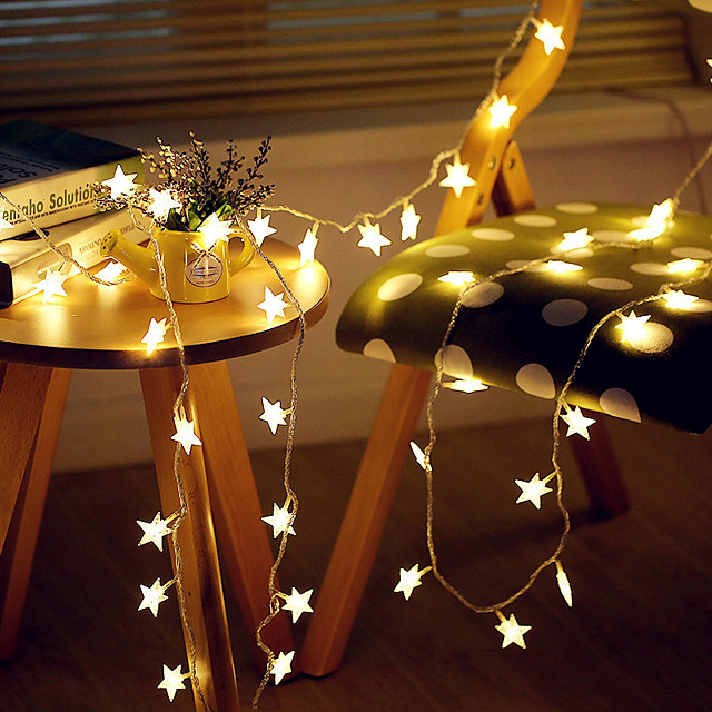 3M 20LED Star LED String Lights USB Powered Fairy Lights Christmas Wedding Holiday Party Decoration Light