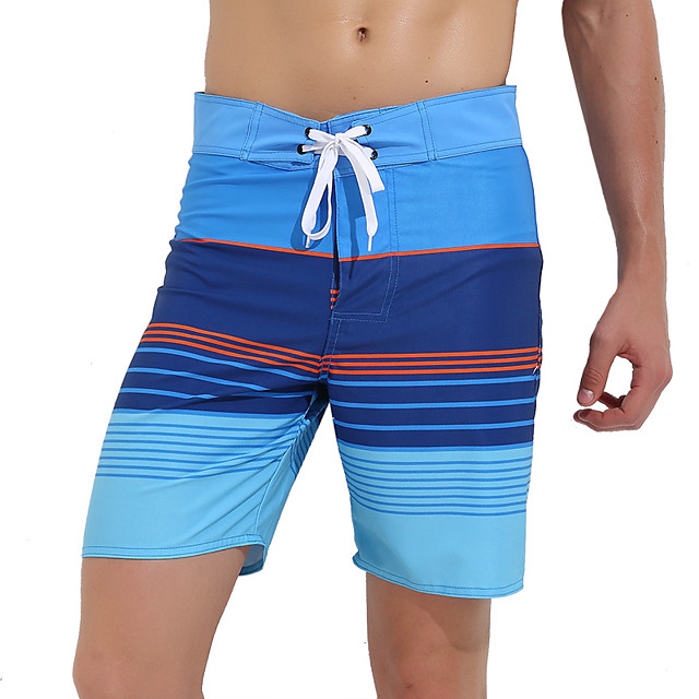 Men's Swim Trunks Elastane Bottoms Breathable Quick Dry Swimming Surfing Water Sports Summer / Stretchy