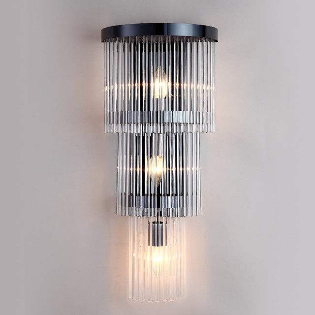 Post Modern Luxury Modern Crystal Creative Wall Lamp for Bedroom / Office /Balcony Decorate Home Wall Lighting Fixture