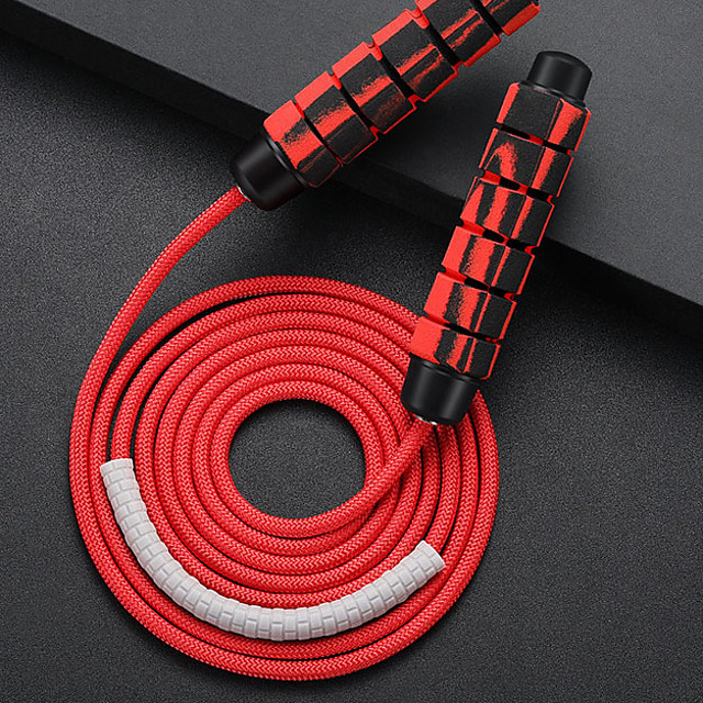 Jump Rope / Skipping Rope Sports Polyester PP Exercise & Fitness Portable Adjustable Durable Muscular Bodyweight Training Weight Loss For Men Women