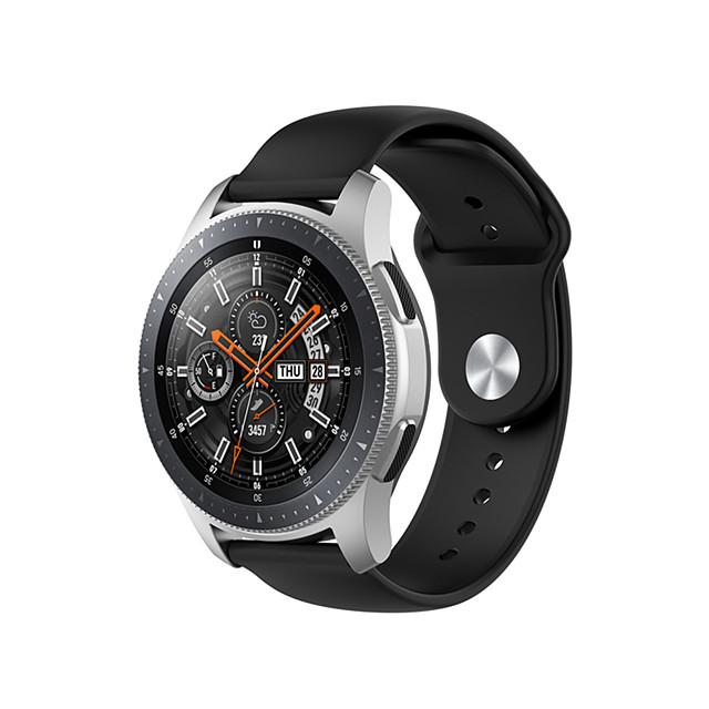 22mm Silicone Watchband for Samsung Galaxy Watch 46mm Wrist Strap