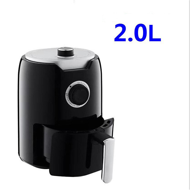 Air Fryer 2L 1000-Watt Electric Hot Air Fryers Oven Oilless Cooker for Roasting Rotating Presets Family Use