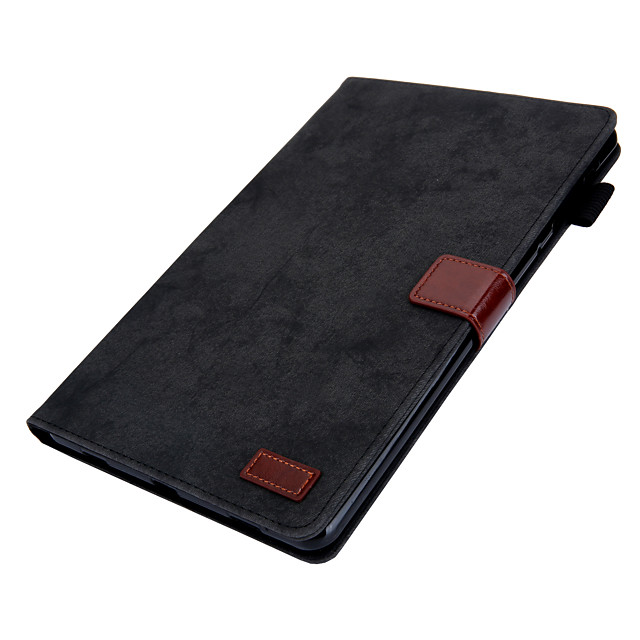 Case For Samsung Galaxy Galaxy Tab A 10.5 T595 T590 360 Rotation  Shockproof  Magnetic Full Body Cases Solid Colored PU Leather  TPU