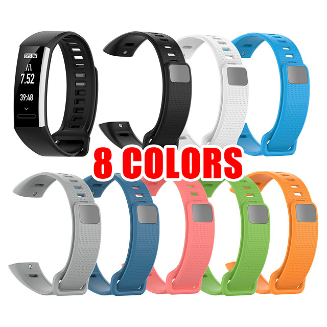 Silicon Wrist Strap For Huawei Band 2 Pro B19 B29 Bracelet Straps TPU Wristband For Honor Band 2 Band2 Pro Watch Bands