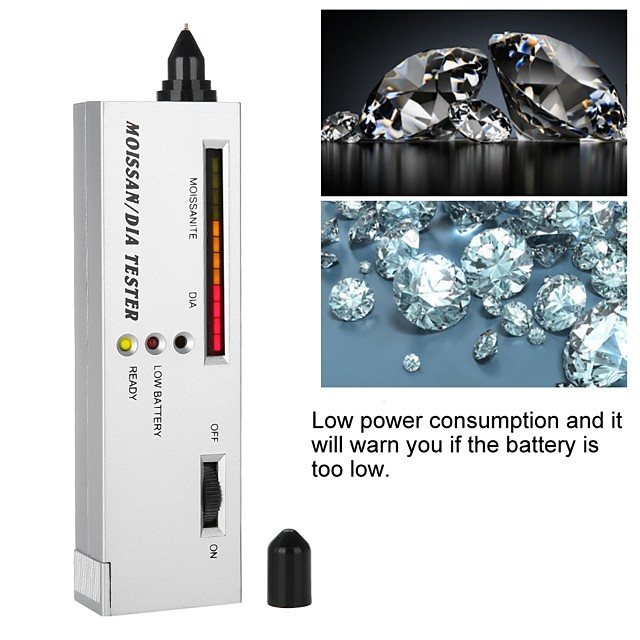 Professional High Accuracy Diamond Tester LED Diamond Indicator Test Pen Moissanite Selector Diamonds Watcher Tool