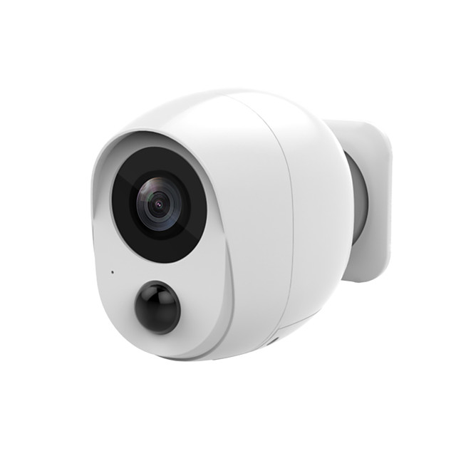 1080P Low Power Mini Battery Camera Outdoor Wifi IP Camera 2MP PIR Motion Detect Smart Home Wireless Security CCTV Camera iCSee Battery (excluding)