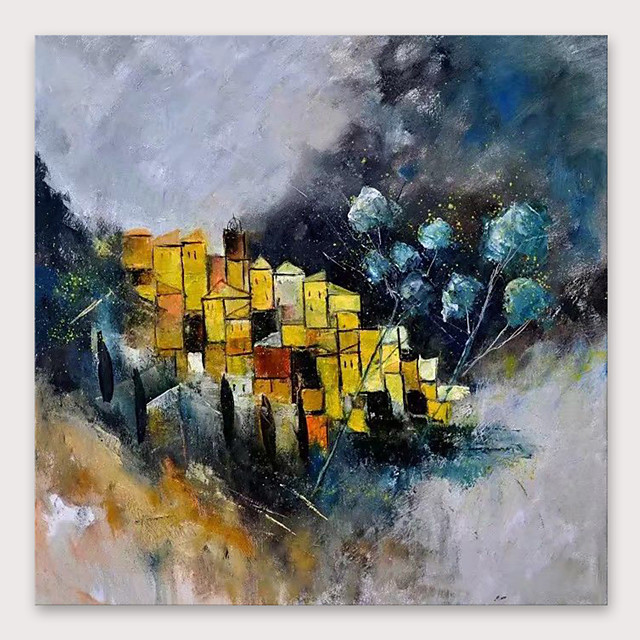 IARTS®Hand Painted abstract Oil Painting   with Stretched Frame For Home Decoration