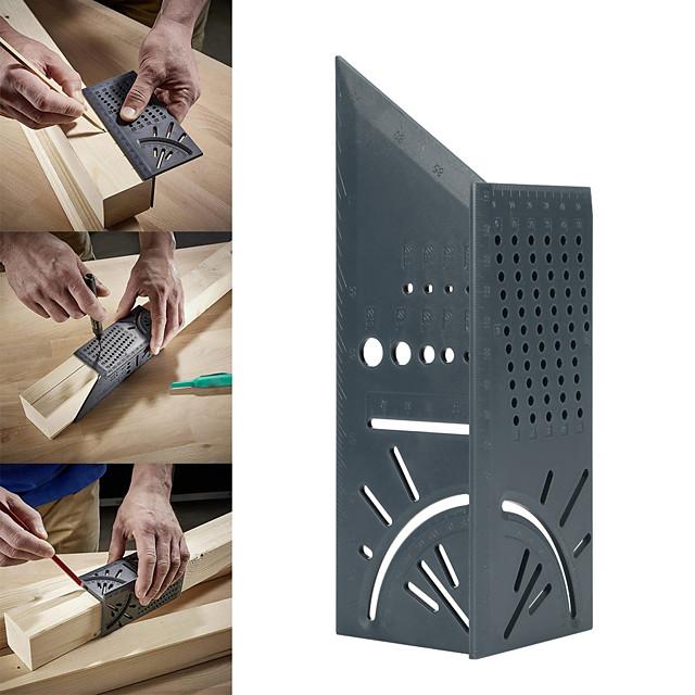 Woodworking Scribe Mark Line Gauge T-Type Ruler Square Layout Miter 90 Degree Gauge Measuring Gauging Carpenter