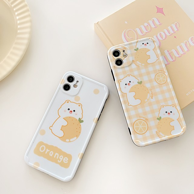 Case For Apple iPhone 7 7P iPhone 8 8P iPhone X iPhone XS XR XS max iPhone 11 11 Pro 11 Pro Max iPhone 12 Pattern Back Cover Cartoon TPU