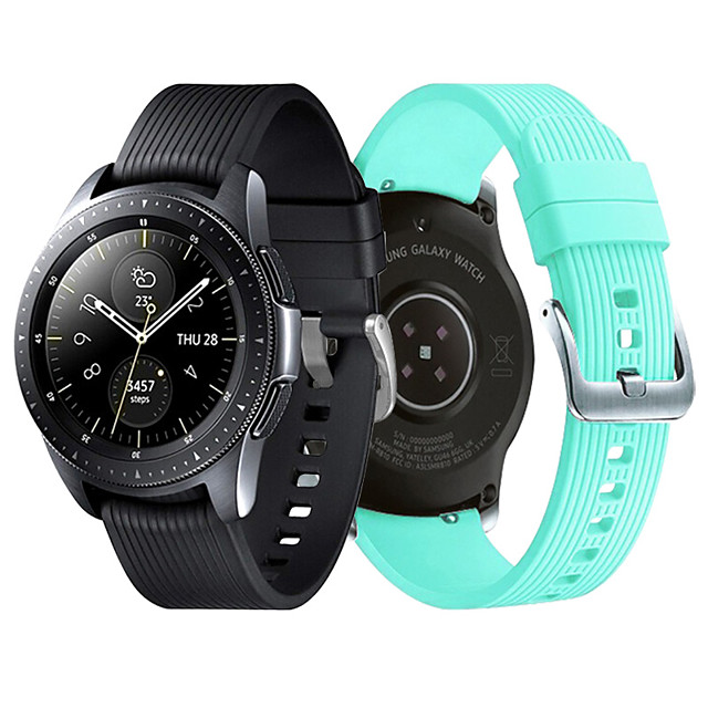 Suitable for Samsung gear s4-42 chuanzi band silica gel 20 mm strap