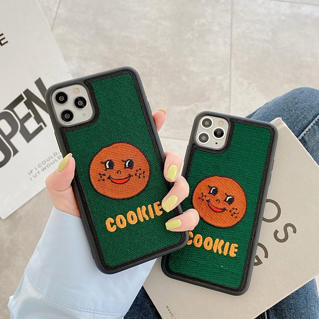 Case For Apple iPhone 7 7Plus iPhone 8 8Plus iPhone X iPhone XS XR XS max iPhone 11 11 Pro 11 Pro Max SE Pattern Back Cover Word Phrase Cartoon TPU