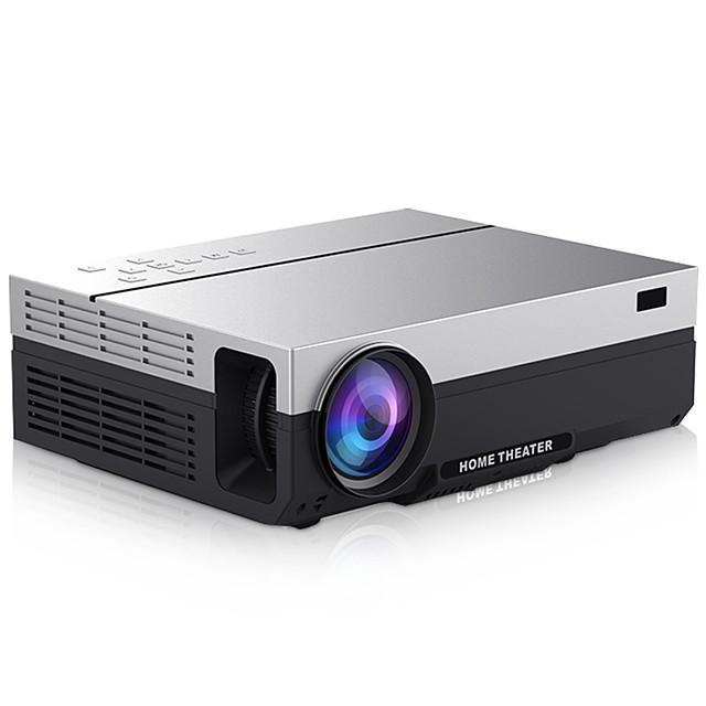 HoDieng HD26K Full HD Projector Native 1080P 5500 Lumens Video LED LCD Home Cinema Theater HDMI VGA USB TV 3D Beamer T26L T26 T26K