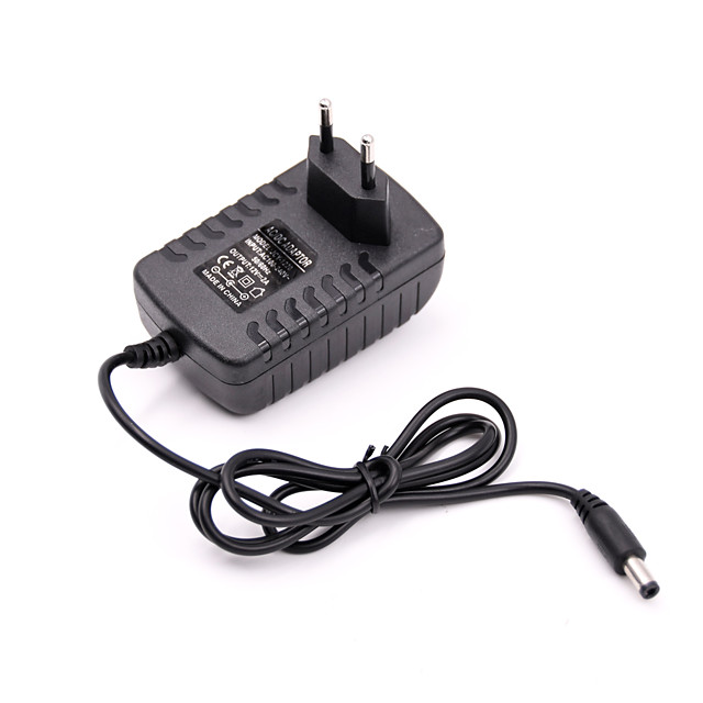 1 pc DC12V EU Power Adapter