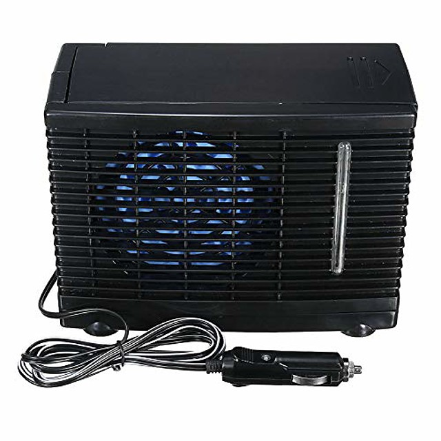 portable car fan air cooler,fluoride-free evaporative air conditioner speed adjustable cooling fan,ice or water cooling additives,24v