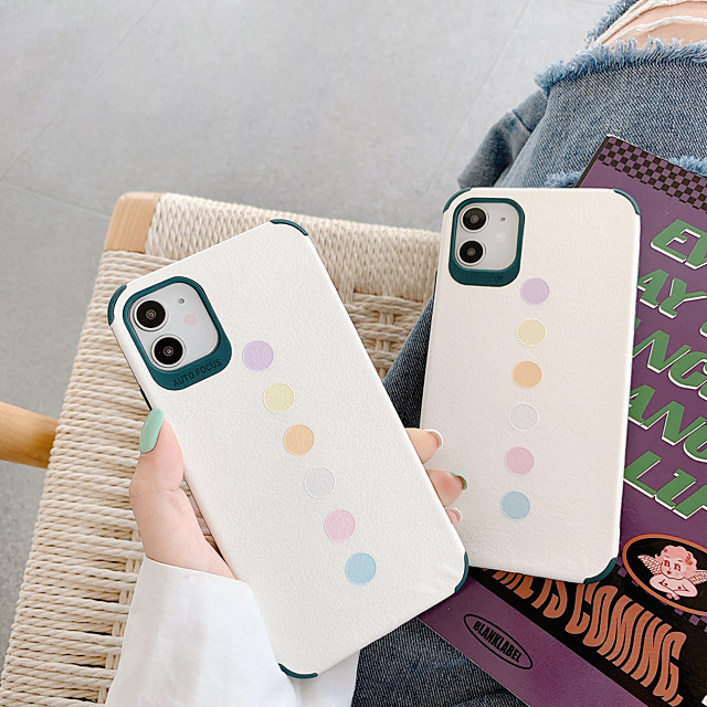 Case For Apple iPhone 7 7Plus iPhone 8 8Plus iPhone X iPhone XS XR XS max iPhone 11 11 Pro 11 Pro Max  SE Pattern Back Cover Geometric Pattern TPU